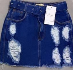 Vendo saia jeans, numeração 38 R$50