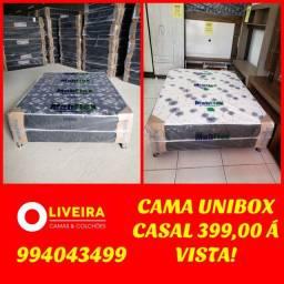 GRANDE PROMOÇÃO!! CAMA BOX ACOPLADA CASAL APENAS 400,00 A VISTA