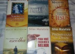 Lote de livros evangélicos
