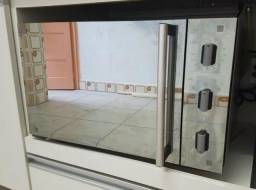 Forno Elétrico Inox Espelhado Muller 44 litros