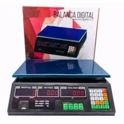 Balança Digital Eletrônica 40 kg Alta Precisão Bivolt 110 ou 220 volts