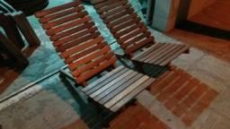 Cadeiras de praia 100%