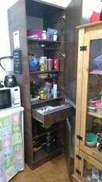 Armário cozinha semi-novo menos de 6 meses de uso