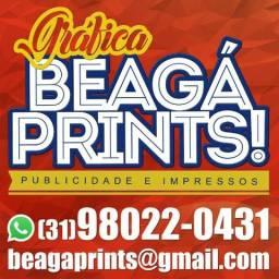 Panfletos, banners, cartões de visita, adesivos