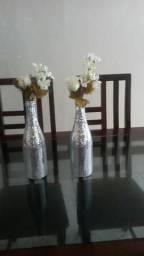 Vendo-kit de 2 garrafas decorada