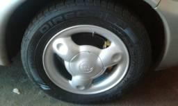 Troco por 5 pneus 14 novos
