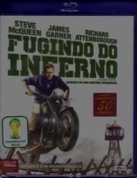 Blu-ray Fugindo Do Inferno Lacrado Fora De Catálogo Raro