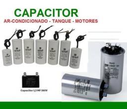 Capacitores e Rele de Placa Ar-Concionado