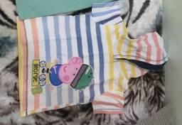 Camiseta George Peppa infantil