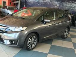 Honda fit ex 2017 cvt flex 1.5 aut pneus novos único dono extra - 2017