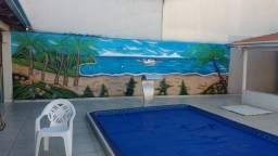 Espaço para festas e eventos com som ambiente, piscina aquecida, freezer, Bairro Cardoso I