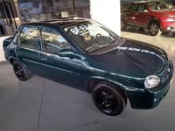 Corsa Sedan 1.0 Mpfi Mileniun 8V, 4P Manual - 2001 -Repasse- Caxias Do Sul - 2001