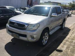 Hilux CD 4X4 2.5 2010 Diesel - Completíssimo!!! - 2010
