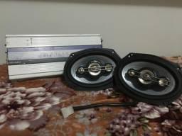 6x9 Bravox + módulo 600 wats