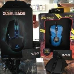 Mouse Gamer Óptico 2400 Dpi- ( Loja na Cohab)-Total Segurança na Sua Compra. Adquira Já