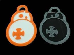 Star wars - chaveiros personalizados