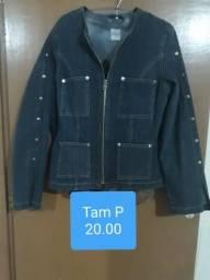 Jaquetas jeans e blazer
