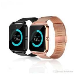 Relógio Inteligente Z60 Suporte Ios Câmera Android; precisa cartão SIM
