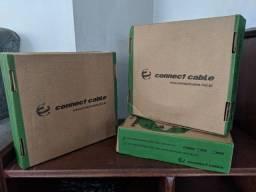 Cabo Coaxial CFTV bipolar - caixa 100 metros