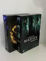 DVD?s 2 Pacs Senhor dos Anéis/Matrix