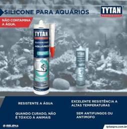 Silicone Tytan pra aquário