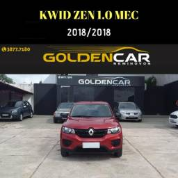 Kwid zen 1.0 mecânico - 2018