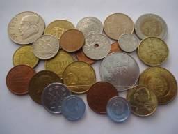 25 moedas antigas estrangeiras para colecionadores