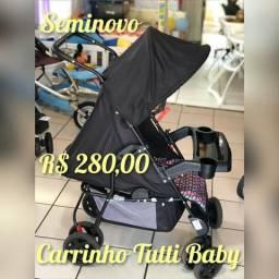 Carrinho Tutti Baby Tithus - Produto Seminovo Lindissimo