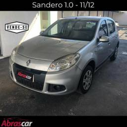 Sandero 1.0 completo - 11/12 - Promissoria - 2012