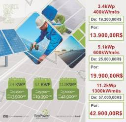Promoções painel solar energia zero (até 10/03)