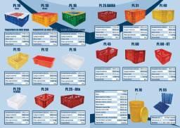 Direto de fabrica - Caixas plasticas hortifruti - medidas externas: 56x36x31 alt