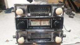 Rádio original pro fusca fusquinha fuscão variant Brasília