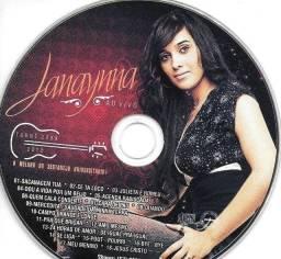 CD: Janaynna ao vivo - Turné 2009-2010 - O Melhor do Sertanejo Universitário