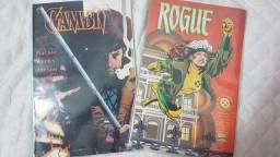 (Raro) X-men Vampira Gambit Edição Colecionador Importada HQ