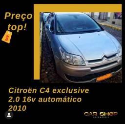 Citroe?n C4 exclusive 2.0 16v automa?tico  2010