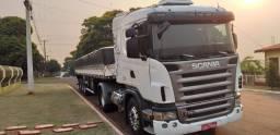 Scania G380 4x2 (toco) 2008 + SR Randon 12,5m 2014