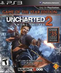 Uncharted Among Thieves 2 Ps3 Game Of The Year Ed. Original - Novo