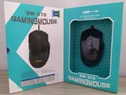 Mouse Gamer Dpi Ajustável e 10 Botões - Muito Top