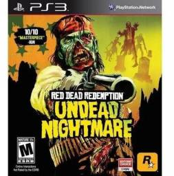 Red Dead Redemption: Undead Nightmare - Ps3 - Original - Novo