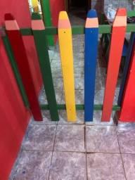 Portão de proteção para casa ou para escola