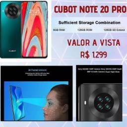 Celular Cubot note 20 pro NOVO
