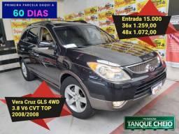 Vera Cruz GLS 4WD 3.8 CVT 2008 Top 7Lugares
