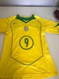 Camisa Brasil 2004 P Original Nike