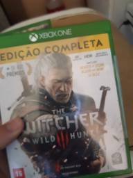Witcher 3 complete edition semi novo xbox one