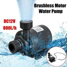 Mini Bomba D água 12v-800lh 19w/ Motor sem escova