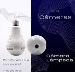 Câmera Lâmpada IP Wi-Fi nova HD