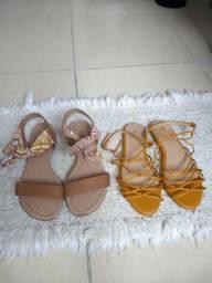 Combo de sandálias 80,00