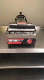 Chapa Grill estriada Croydon em bom estado de conservação - para vender HOJE!!!