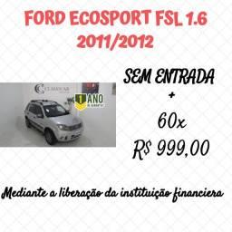 Ford Ecosport 1.6 Freestyle Flex 2012 Pneus Pirelli