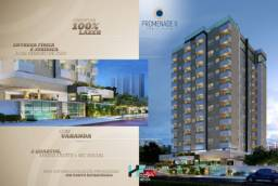 Promenade II - apartamento de 2 qts com varanda - Ponta Verde